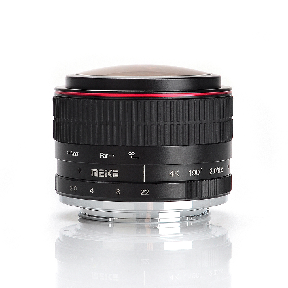 все цены на Meike MK-6.5mm-F/2.0 6.5mm Ultra Wide F/2.0 Fisheye Lens for Canon for Sony for Fuji for M4/3 Olympus Mirorrless Camera a6500 онлайн