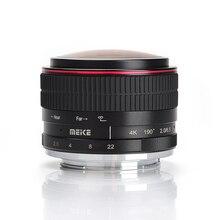 Майке MK-6.5mm-F/2.0 6.5 мм ультра широкий F/2.0 рыбий глаз для Canon для Sony для Fuji для M4/3 Olympus mirorrless Камера A6500