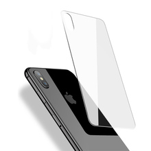 9H Front Tempered Glass For iPhone 8 7 6 6S Plus Rear Screen Protector Glass For iPhone X XR XS Max 5 5S SE Protective Back Film for iphone x 10 4d glass back screen protector rock 0 26mm 9h hardness protective back film tempered glass for apple iphone x