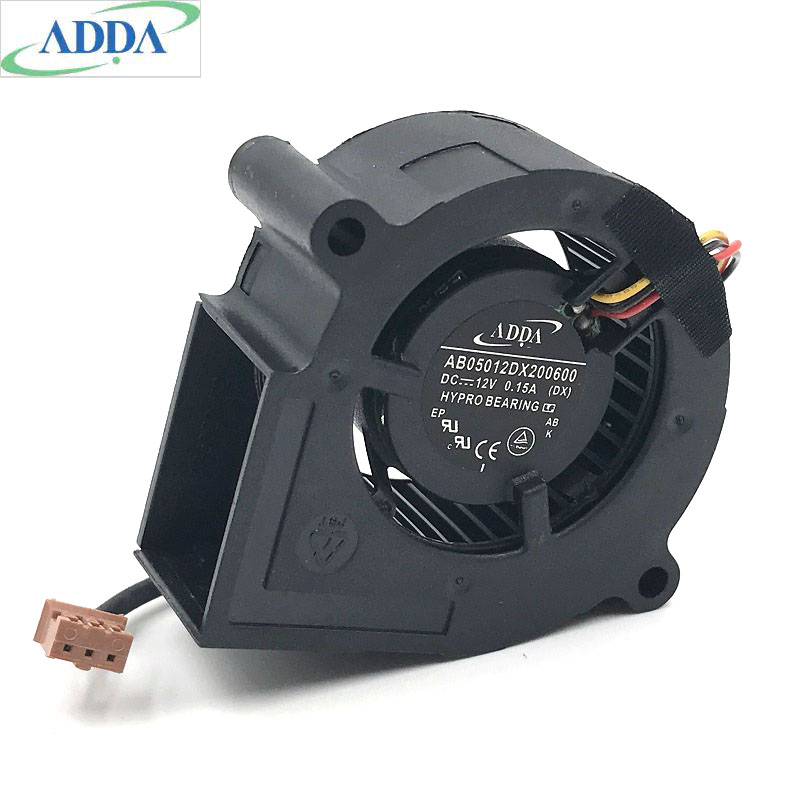 1pcs ADDA 5cm AB05012DX200600 5020 12v 0.15a Blower Cooling fan1pcs ADDA 5cm AB05012DX200600 5020 12v 0.15a Blower Cooling fan