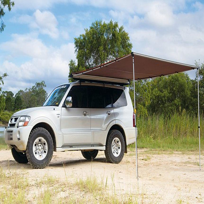 DANCHEL Car Tent 2x15 2x2 2x25m 25x2m Toldo 4WD Roof Awning Up 420D Sun Shade Side In Tents From Sports Entertainment