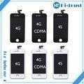 Класс A + + + качество ЖК-Дисплей Для iPhone 4S GSM CDMA с Сенсорным Экраном Digitizer Замена 50 шт./лот DHL Freeship