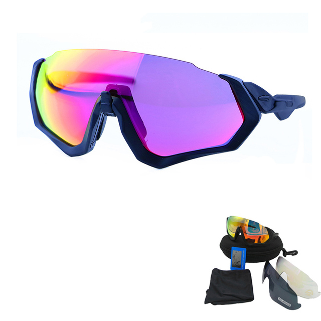 8132fc88d3c Polarized Cycling Glasses for Men UV gafas ciclismo Women Cycling Goggles MTB  Eyewear Outdoor oculos ciclismo Multi Color-3 Lens