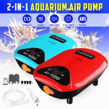 2-IN-1 Aquarium Air Pump Fish Tank Pond Oxygen Pump USB Li-ion Battery Mini Aquarium Fish Tank Accessories Outdoor Fishing Tools(China)