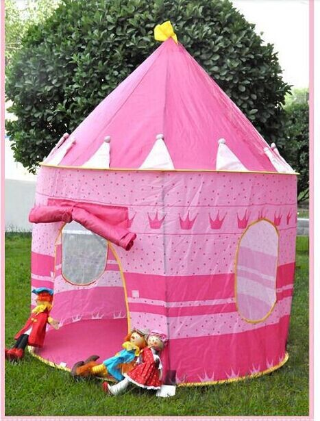 Large Pink Princess Tent Cute Child Game House Beautiful Play Tent Pretty  Indoor And Outdoor Play Tent Girl Christmas Gift In Toy Tents From Toys  U0026 ...