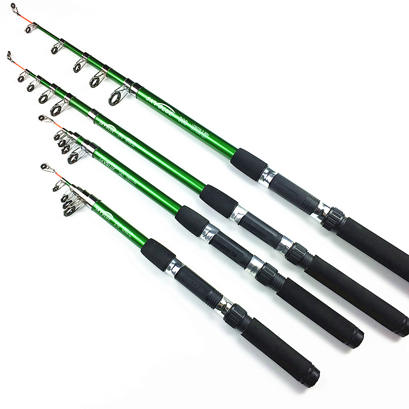 2.1m 2.4M 2.7M 3.0M Spinning Fishing Rod M Power Telescopic Rock Fishing Rod Carp Feeder Rod Surf Spinning Rod Lure
