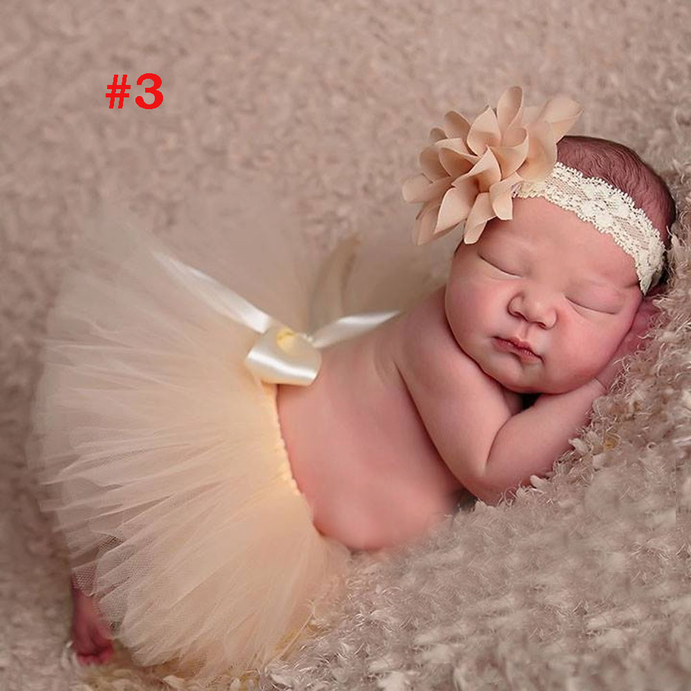 Antique-Rose-Tutu-and-Vintage-Style-Headband-Handmade-Newborn-Tutu-Baby-Girl-Photography-Props-Birthday-Gift-TS049-2