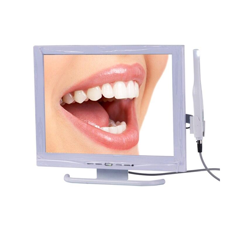 Все в одном эндоскопа Системы с 15 дюймов 4:3 промышленного класса + экран стоматологическая интраоральной Камера с AIO монитор