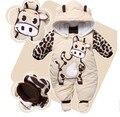 Macacão + Chapéu + Sapatos Animal do Estilo Macacão de Bebê Com Capuz Roupas Meninos Meninas Roupas Roupas de Recém-nascidos
