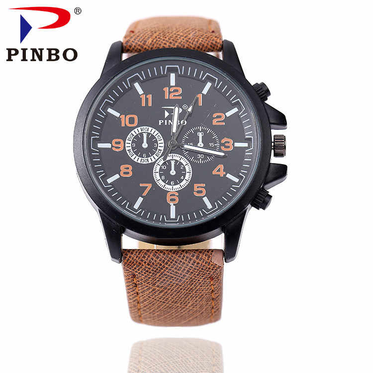 New 2017 Sport Quartz Watch Men Top Brand Luxury Famous Fashion Leather Wrist Watch Male Clock for Men Hodinky Relogio Masculino