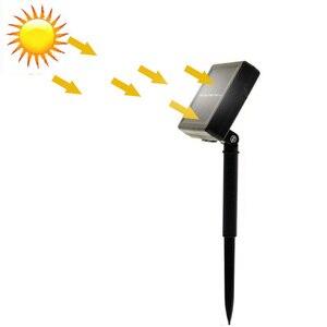 Новый 20/50 светодиодов хрустальный шар 5 м/10 м Солнечная лампа мощность светодиодная гирлянда сказочные огни гирлянды на солнечной энергии Сад Рождественский Декор для улицы