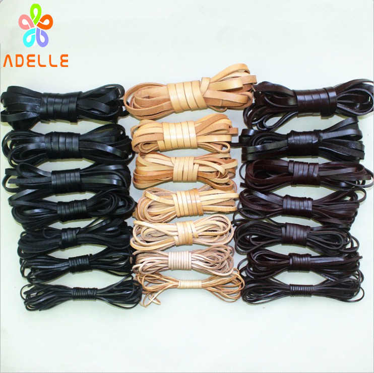 Wholesale 5//20M Faux Leather Necklace Charms Rope String Cord 10mm DIY Craft