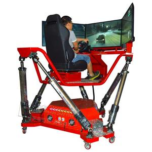 Game-Machine Simulator Arcade Racing-Games Video 3-Screen Car HD for Teenagers Adults
