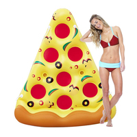 Inflatable Pizza Pool Float Giant Floats Summer Outdoor Activitives Beach Party Swimming Pool Inflatable Mattress For Adult New