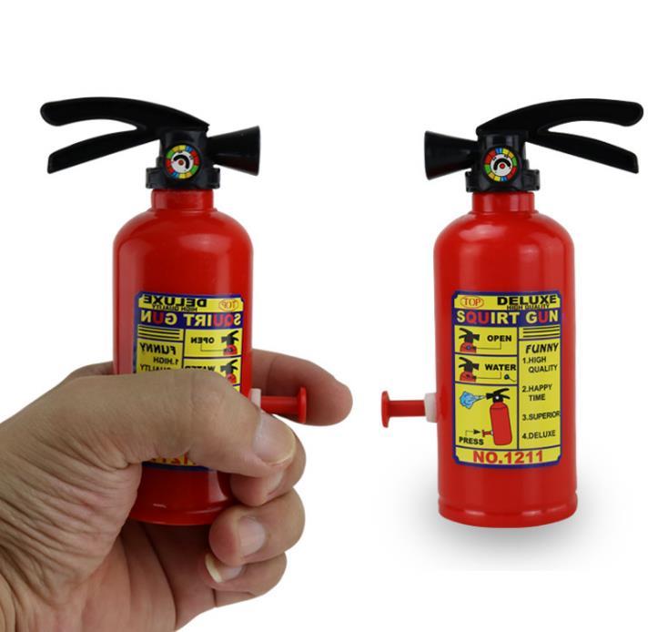 3pcs /lot Field Of Fire 8 Meter Fire Extinguisher Shape Water Pistol Water Toys Children Beach Water Guns Water Shooter Soakers