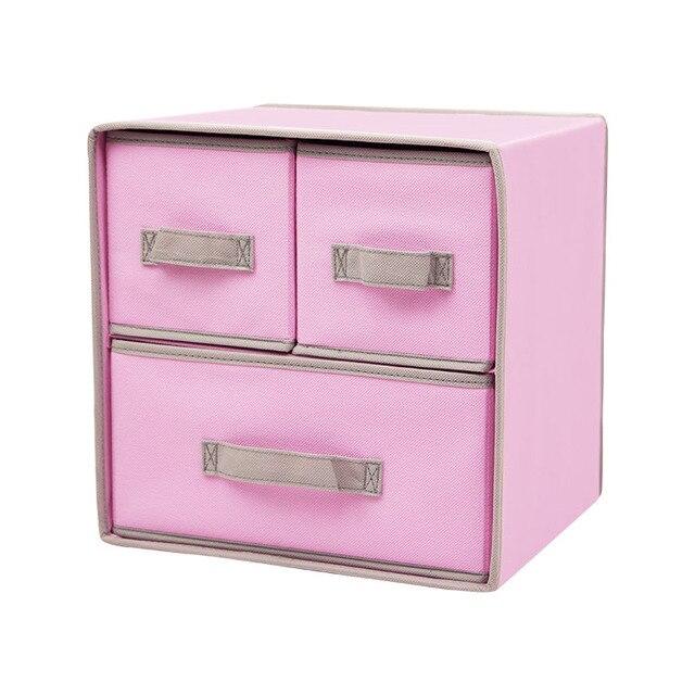 2 Schichten Spielzeug Schubladen Aufbewahrungsbox Schublade Typ