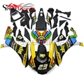 Complete Fairings For Yamaha YZF R1 15 16 YZF-R1 2015 2016 Injection ABS Motorcycle Fairing Kit ABS Bodywork Black Yellow New