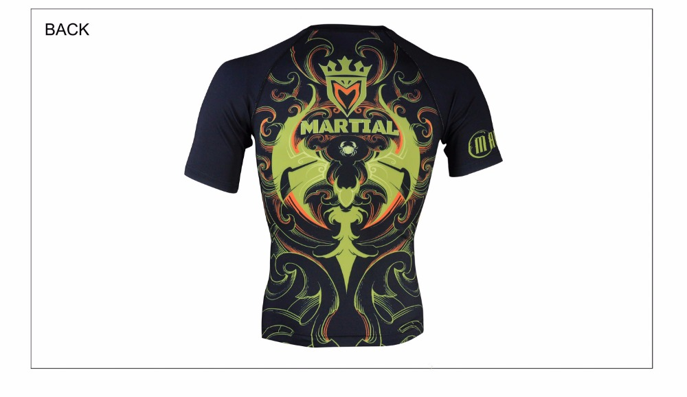 Marciais: Cancer constellation sublimada roupas mma t-shirt