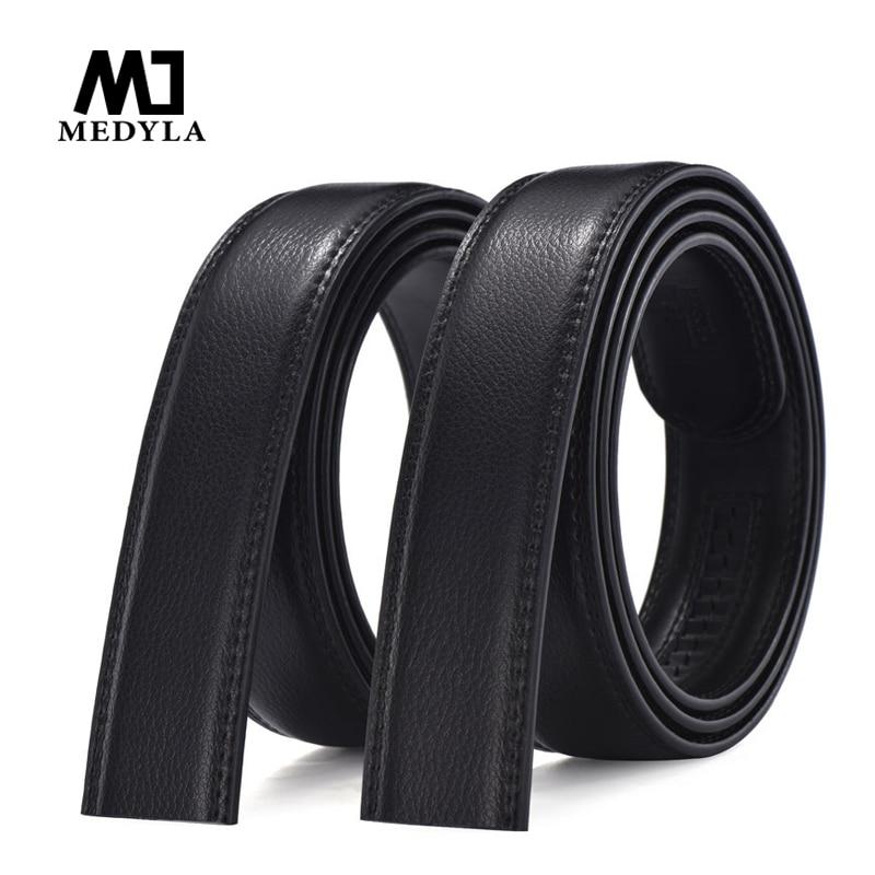 MEDYLA Marque Designer Bracelet En Cuir Mâle Ceinture Automatique Boucle Ceintures Pour Hommes 3.5 cm Ceinture Large Hommes Ceinture Ceinture ceinture