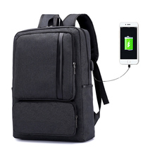 New Arrival Laptop Backpack USB Charging Backpacks Large Capacity Students School Bags Business Oxford Male Bag Mens