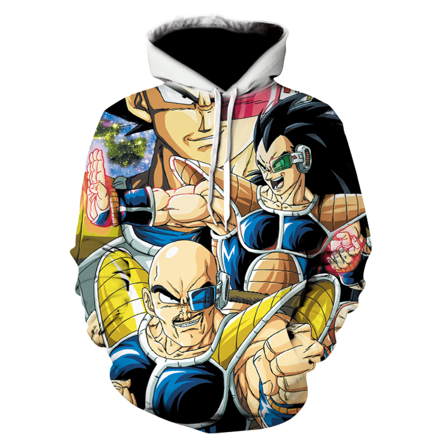 Naruto dragon ball z hoodies 3d print pullover sportswear - Naruto and dragonball z ...