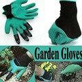 1 двойные садовые латексные перчатки luvas 4  теплоизоляционные перчатки для копания почвы  садовые инструменты для улицы