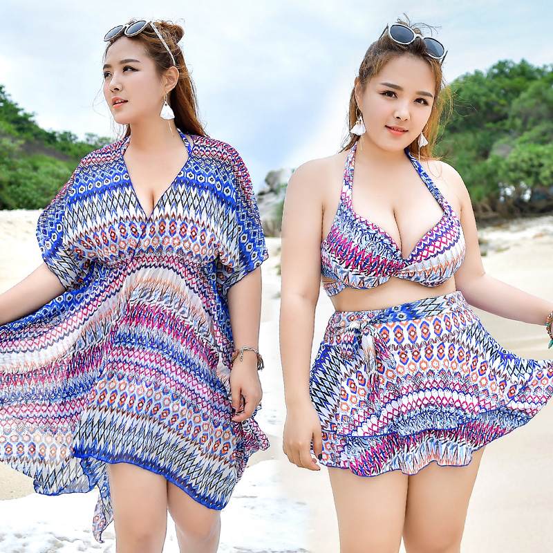 Swimming Suit for Women 2018 New Arrival Plus Size Swimsuit Big Breast Push Up Swimsuit Bikini Set Stripes Sexy Bathing Suit 6XL breast light detection device for the breast cancer self check up and breast clinical examination