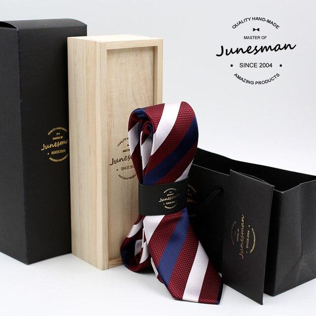 Gravata de seda homem mariage casamento masculino gravata skinny slim kravat gent designer gravatas boy friend presente do marido com lã caixa