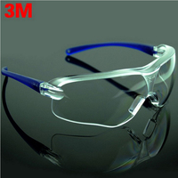 3M 10434 Safety Glasses Goggles Anti Wind Anti Sand Anti Fog Anti Dust Resistant Transparent Glasses