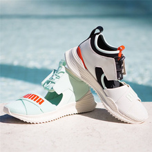 65fdc72a64c Summer 2018 new Arrival PUMA Women s FENTY Avid Sneakers Bow Creeper  Sandals Women Shoes Size 35.5-40 Badminton Shoes