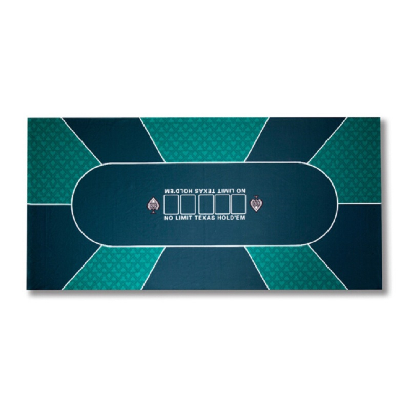 FGHGF (1pieces/lot) Christmas 90*180cm Texas Holdem Table Cloth Felt mat Home 10 Players Poker layouts ...