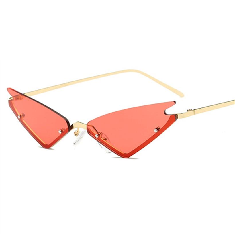 d8bcdf42d6 Dropwow YOOSKE Small Cat Eye Sunglasses For Women Brand Designer ...