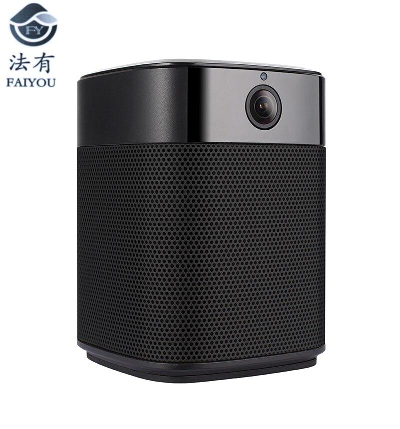 где купить Top-grade WiFi Speaker Bluetooth Speaker Stereo HiFi Audio Home Theater Subwoofer Wireless Souder Amplier With WIFI Cameras LENS по лучшей цене