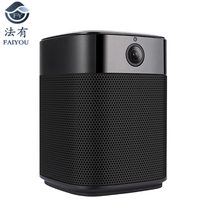 Top-grade WiFi Speaker Bluetooth Speaker Stereo HiFi Audio Home Theater Subwoofer Wireless Souder Amplier With WIFI Cameras LENS