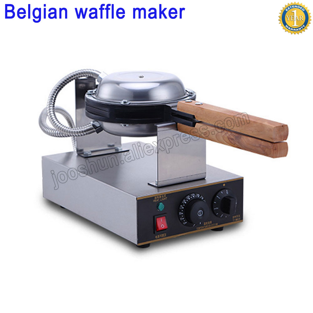 Stainless Steel Egg Waffle Machine Commercial Electric Eggettes Egg Waffle Maker Best Belgian Waffles Maker Cheap Price directly factory price commercial electric double head egg waffle maker for round waffle and rectangle waffle