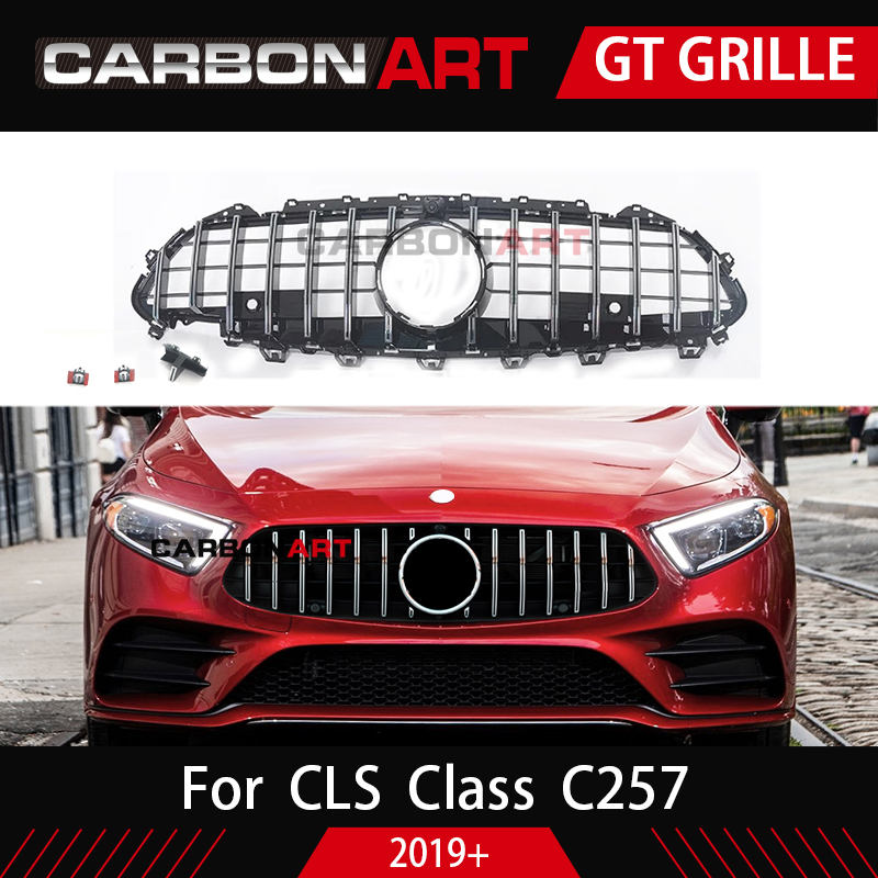 CLS C257 New arrival GT Grill For Mercedes CLS Class C257 Auto Front Grille 2019 CLS300