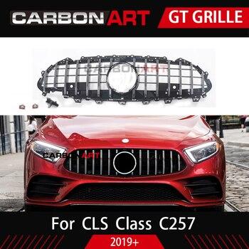 Cls c257 nova chegada gt grill para mercedes cls classe c257 grade dianteira do carro 2019 cls300 cls350 cls450 cls500 estilo