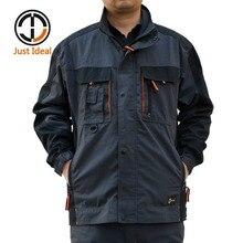Männer Leinwand Jacke Militär Arbeits Mantel Für Männer Oxford Wasserdichte Freizeitjacke Plus größe Outwear ID628