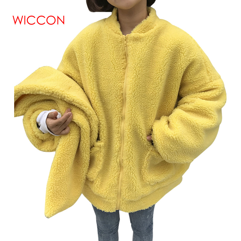 Autumn Winter   Jacket   2019 Women Outwear & Coats Female Plus Size Women Loose Lapel   Basic     Jackets   Women   Jacket   for Female