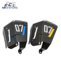 Sclmotos MT07 FZ07 Motorcycle Coolant Recovery Tank Shielding Cover For Yamaha MT 07 FZ 07 MT