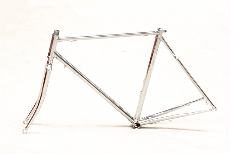 free shipping chromoly steel frame and fork vintage road bike bicycle frameset steel frame bicycle frame