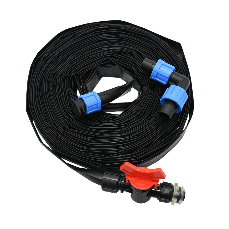drip tape for irrigation system 16mm Drip irrigation Tape Watering System 0.2mm wall thickness Spacing 150mm title=