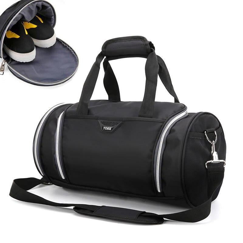 39beb396a29 Waterproof MINI Shoulder Sport Gym Bag for Shoes Storage Women Fitness Yoga  Training Bags Mens Gymnastic Handbag Crossbody