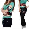 High quality women men Ab Tronic X2 Dual Fitness Belt belt slimming belt vibration belt for Christmas Gift