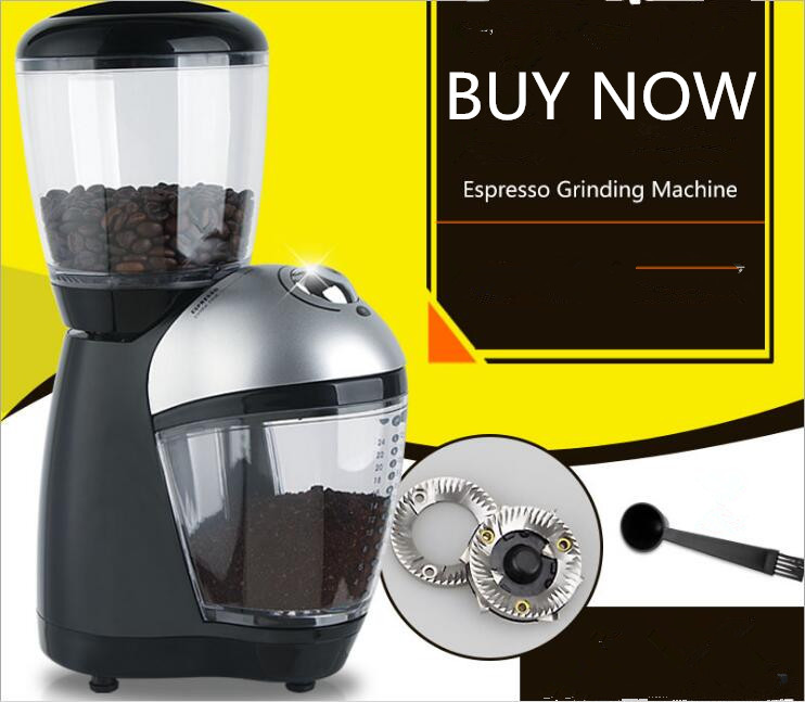 Electric Coffee Bean Grinding Machine Stainless Steel Multi-purpose Household Specialty Coffee Grinder110 220V US Plug mdj d4072 professional commercial household coffee grinder high quality electric coffee machine advanced grinding 220v 150w 30g page 9