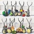 A viagem de chihiro 12 pçs/lote armadilha Ponyo Hayao Miyazaki Anime Meu Vizinho Totoro figura KiKis Entrega PVC Modelo Brinquedos