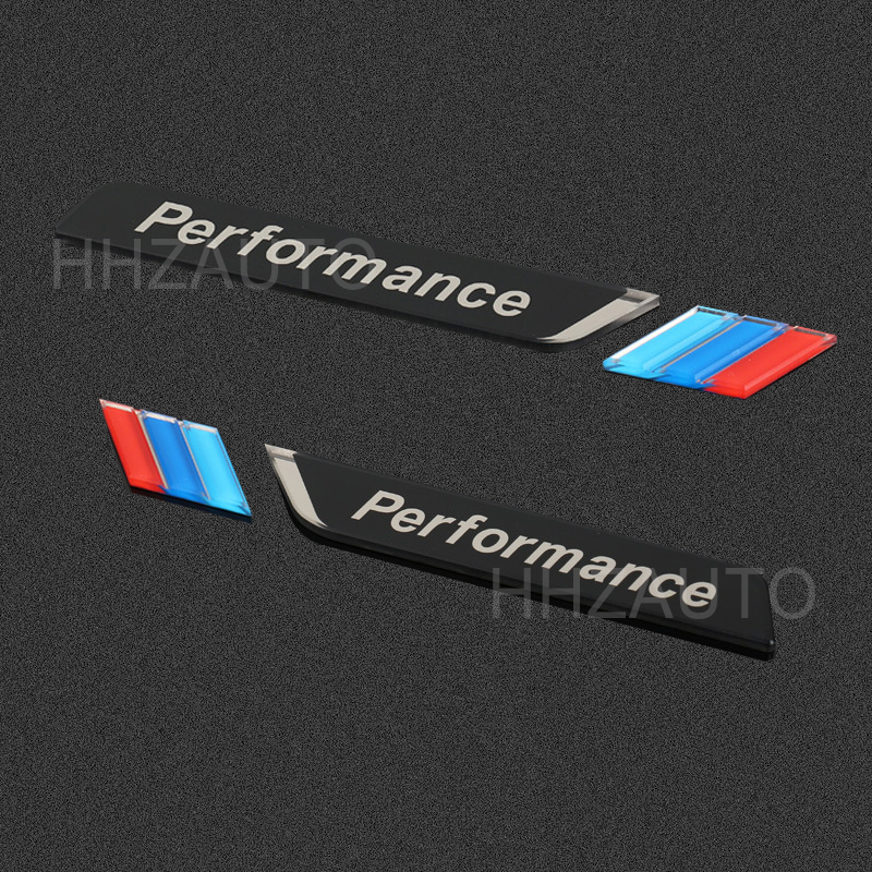 2pcs Acrylic M performance car windows Badge car side body emblem sticker for bmw M E71 E87 E61 E60 E90 E46 F10 F20 F30 X1 X2 auto chrome camaro letters for 1968 1969 camaro emblem badge sticker