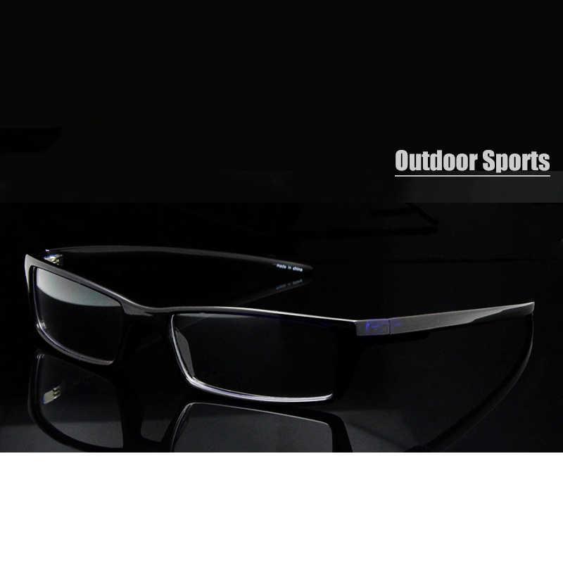 b797d244a79 SORBERN Slim RX Glasses TR90 Flexible Prescription Eyeglasses Frame Men  Rectangular Spectacle Frame Clear Lens Glasses
