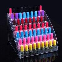 Groothandel Acryl Clear View Geassembleerd Cosmetica Nagellak Lippenstift Opslag Orgonizer Display Standhouder 7 Lagen Nieuwe