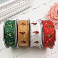 2 cm üç renk noel hediye ile baskı iplik hediye paketleme düğün ev tekstili dikiş kumaş şerit küçük hacimli
